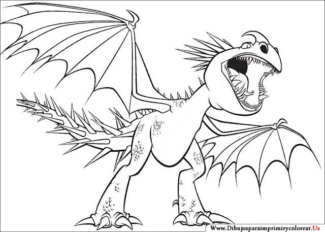 Dibujos Para Colorear De Como Entrenar A Tu Dragon 2 Imagui