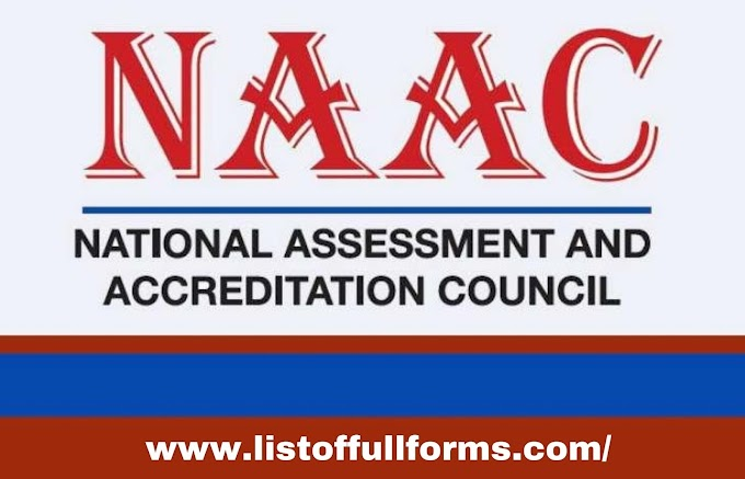 NAAC full form