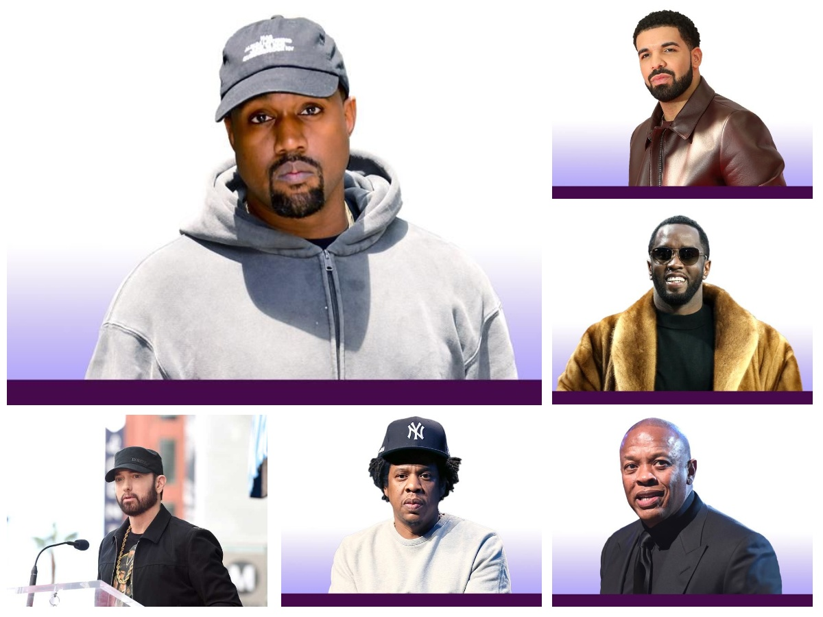 The Top Richest Rappers in The World 2020 : Kanye West #1