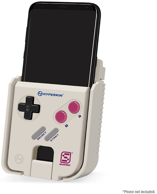 Turn your Android into a real Gameboy with Hyperkin SmartBoy