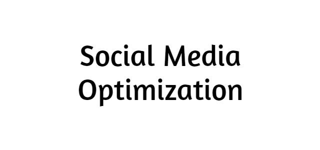 Social Media Optimization | Types