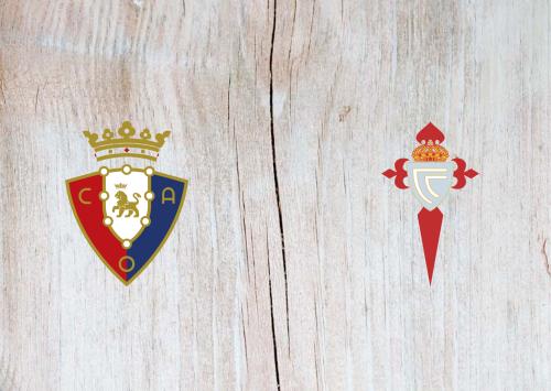 Osasuna vs Celta Vigo -Highlights 11 July 2020