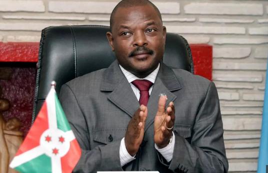President Pierre Nkurunziza of Burundi has died of heart attack