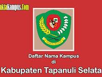 10+ Kampus Terbaik di Kabupaten Tapanuli Selatan yang Negeri dan Swasta