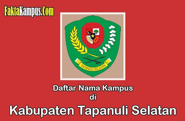 Info Kampus di Tapanuli Selatan