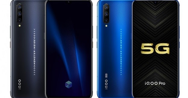 Vivo iQOO Pro and iQOO Pro 5G Go Official with Snapdragon 855 Plus SoC, 44W Fast Charging and 12 GB RAM