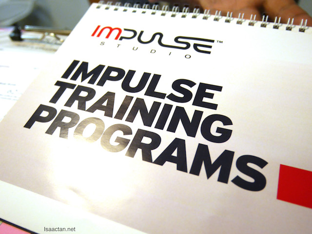 Various Impulse training programs are available at Impulse Studio