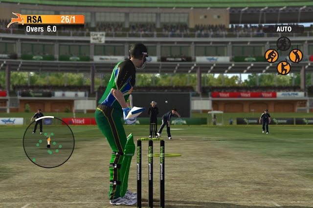 This results in the end, the failure of the publishers to focus sufficient attention on the video game of cricket games