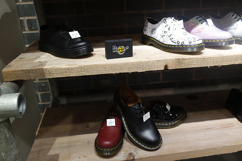 Brands at Jake Shoes Altrincham
