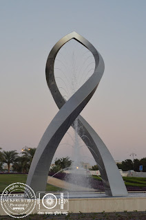 Steel Fountain, Qurum, Muscat, Oman