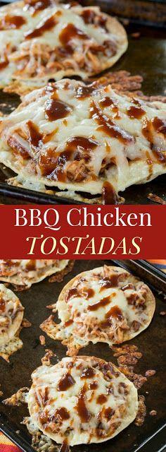 BBQ Chicken Tostadas Weeknight Dinners