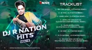 DJ R NATION HITS VOL. 9 - THE ALBUM - DJ R NATION