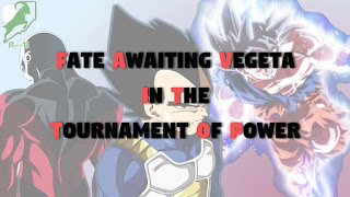 Fate awaiting Vegeta in the Tournament of Power