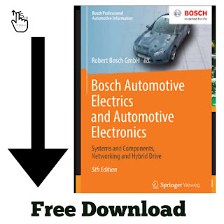 Free Download PDF Of Bosch Automotive Electrics and Automotive Electronics