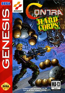 Rom de Contra Hard Corps - Mega Drive - PT-BR