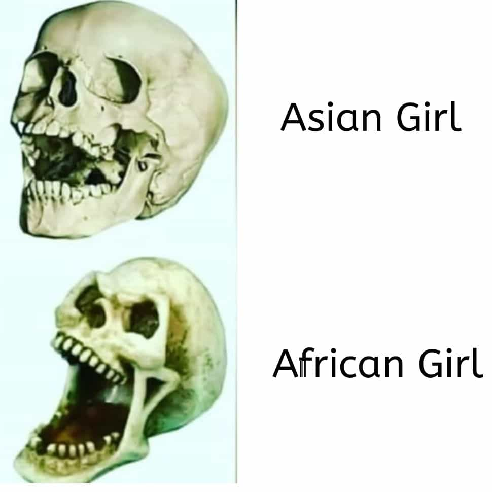 today's-day-skeleton-Asian-and-African
