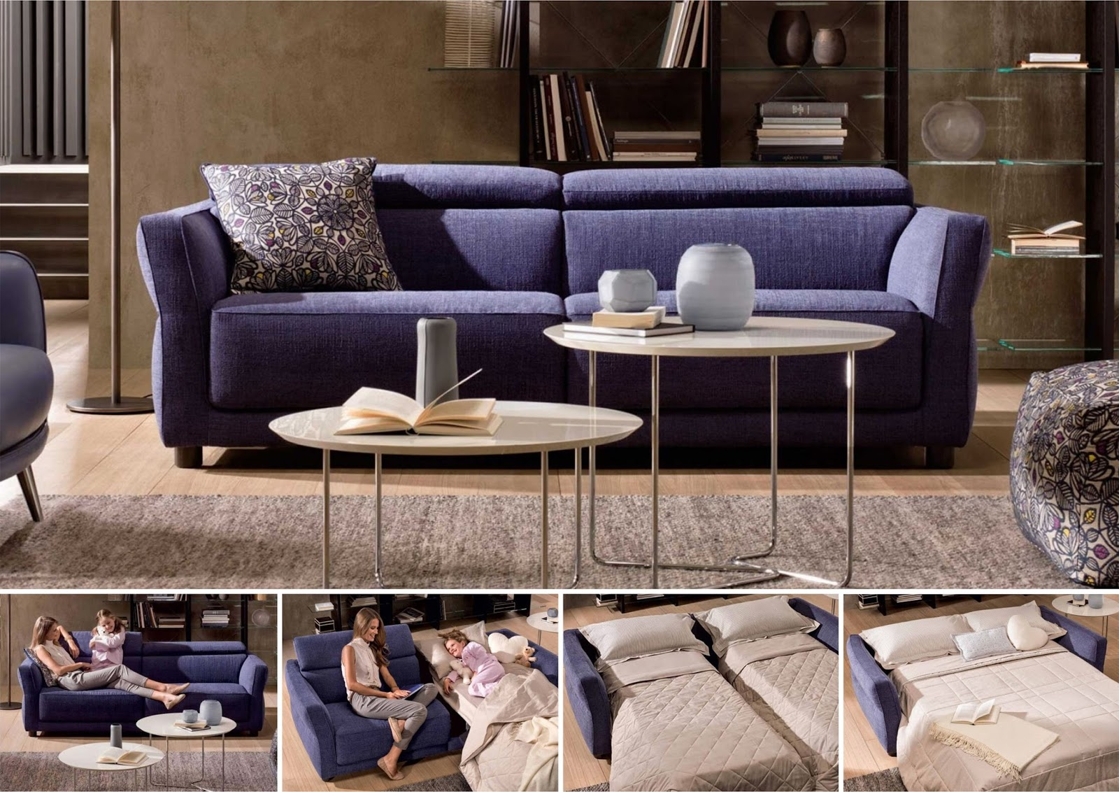 Beau Looks Like A Regular Sofa, But Converts To A Bed Whenever The Need Arises.  Bolero Is A New Sofa Bed With The Fama Distinctive Style.