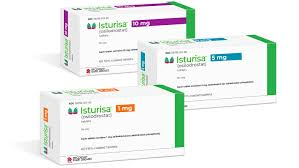 Boxes of Isturisa a new Cushing's Disease medication