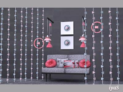 Paulina set Полина набор для The Sims 4 Ультра современный набор для вашей гостиной. В набор входят 15 предметов: диван, кресло для сидения, живой стул, 4 вида подушек, напольные светильники, поддельные настенные светильники, делитель, настенные часы, чайник, чашка кофе и настенная чашка кофе. В наборе 4 цветовых вариации. Rasschitan na Автор: soloriya