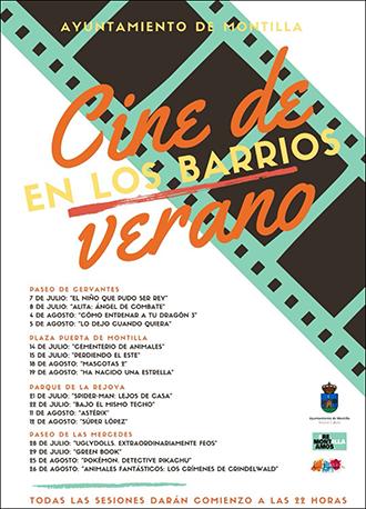 AYUNTAMIENTO DE MONTILLA  - CINE EN LOS BARRIOS