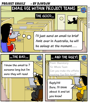 Use of Email within Project Teams