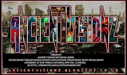 ANCIENT VISIONZ EXTENDED EDITION ON AIR! (DIY METAL RADIO)