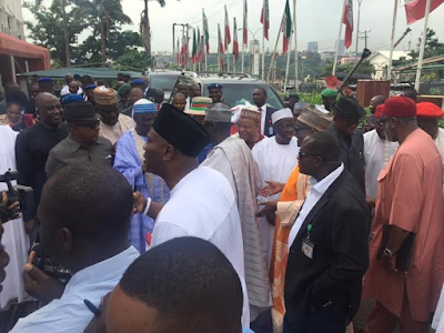PDP now house of commotion as caretaker committee members take over leadership of the party000000