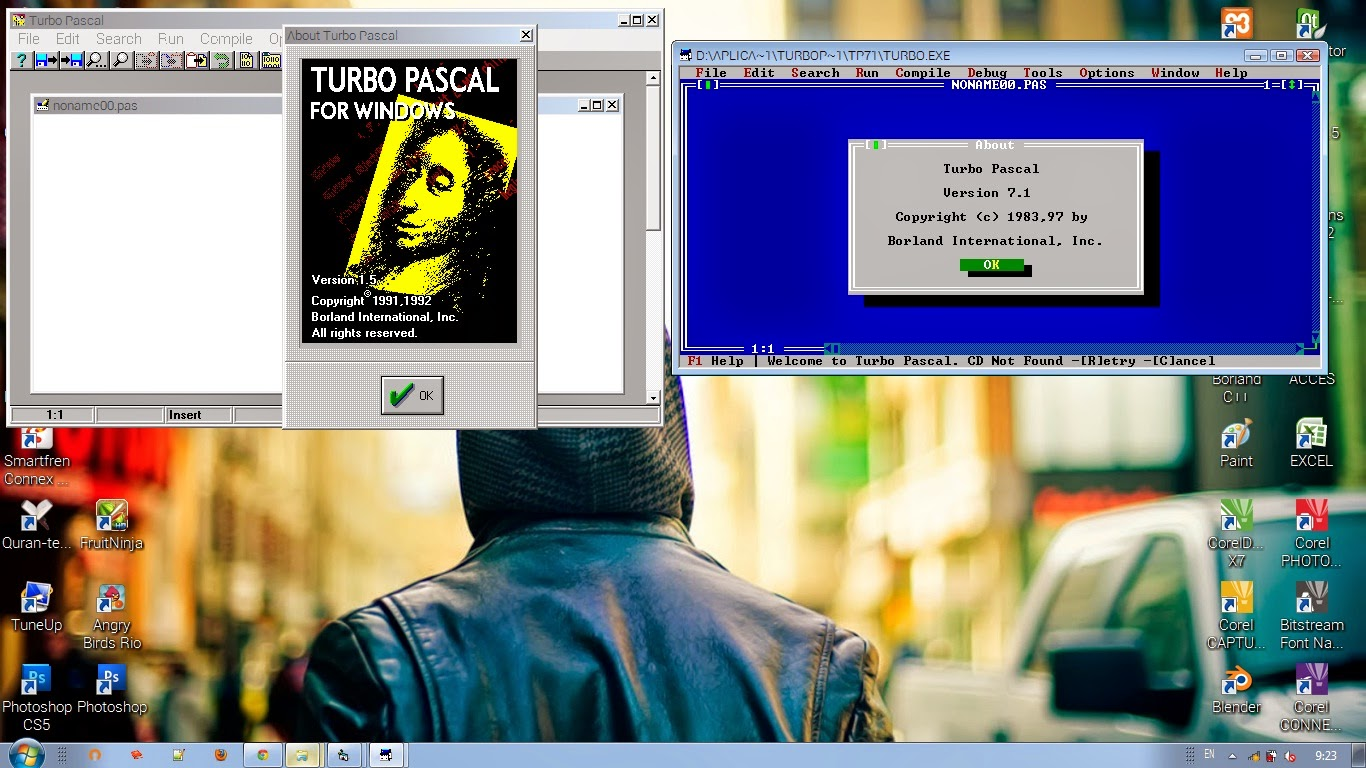 Turbo Pascal 1.5 for Windows