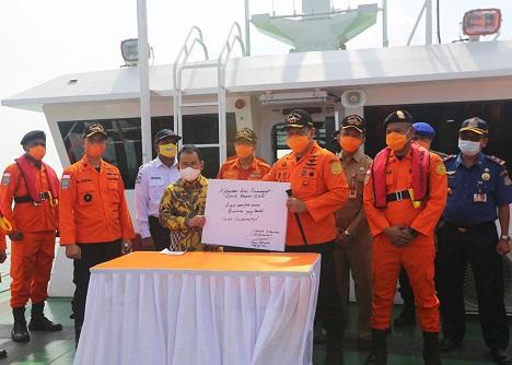 Banten Kini Punya Kapal Operasional Kemanusiaan, KN SAR 247 Tetuka