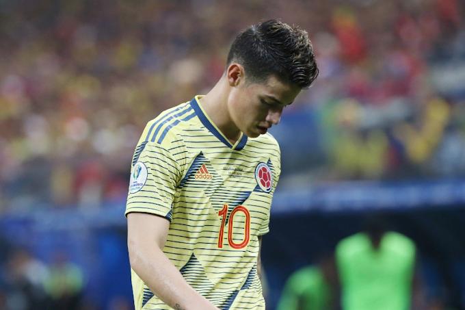 Selección Colombia confirmó nueva y sensible baja para doblete ante Perú y Argentina, y la Copa América: James Rodríguez
