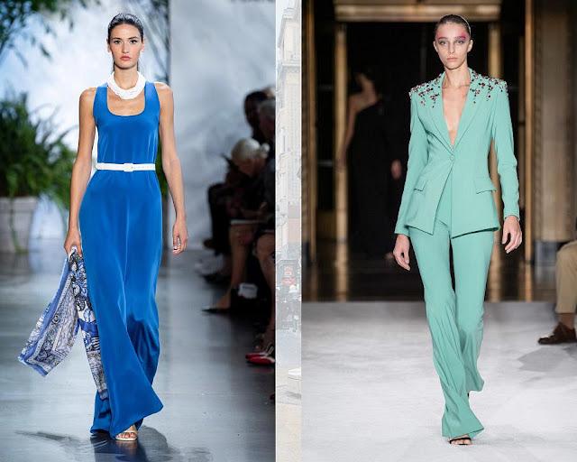 модные цвета одежды весна-лето 2020