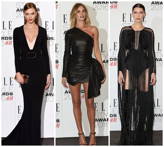 Elle Style Awards 2016 Bella Hadid
