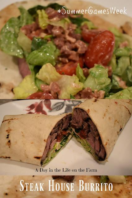 Steak House Burrito pin