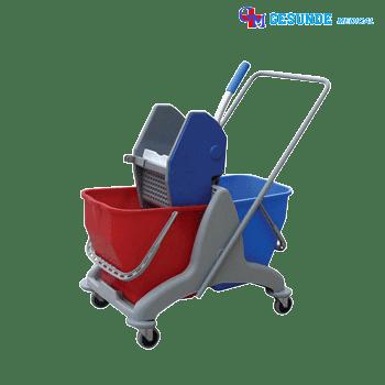 Alat Pembersih Lantai Double Bucket Tempat Penyimpan Air