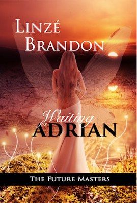 cover graphic, Waiting for Adrian, author Linzé Brandon