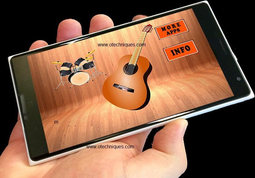 تطبيق العزف علي الجيتار Real Guitar Free