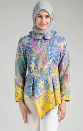 Baju batik atasan