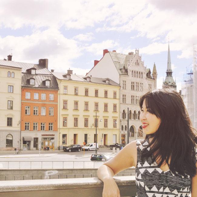 Best Stockholm Instagram Spots - view of Gamla Stan