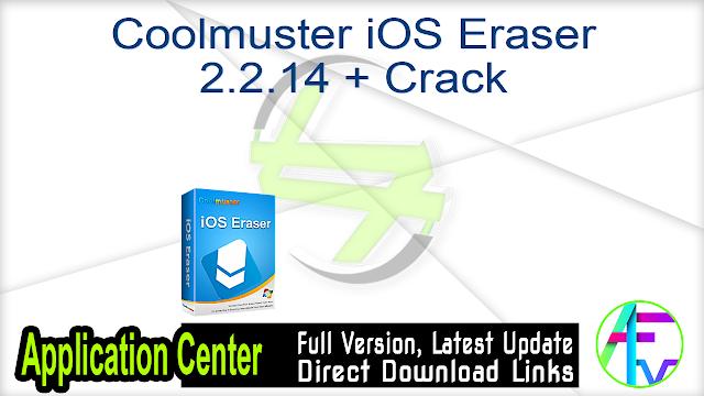 Coolmuster iOS Eraser 2.2.14 + Crack
