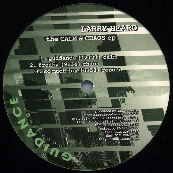 Larry Heard - Calm & Chaos EP art cover
