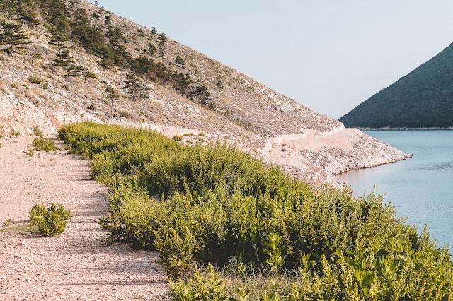Šetnica (staza) Plomin Luka - Rt Mašnjak