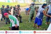 Peringati HUT ke-59, Menarmed 2 Kostrad Melaksanakan Karya Bhakti