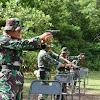 Personel Korem 141/Tp, Latihan Menembak  Senjata Ringan  Jenis M16