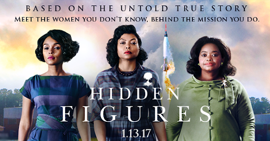 "A Movie Recommendation: ""Hidden Figures"""