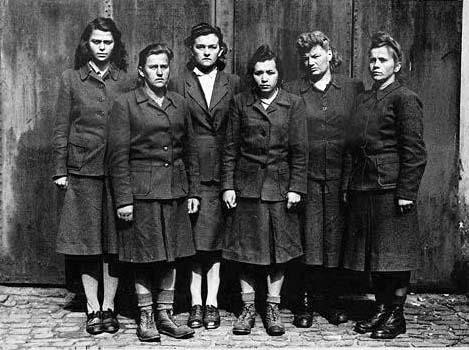 death camps Nazi war crimes genocide women guards
