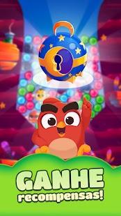 Estoure bolhas dos sonhos com os filhotes de Angry Birds