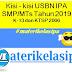 Kisi - kisi USBN IPA SMP/MTs Tahun 2019 Kurikulum 2013 dan KTSP 2006