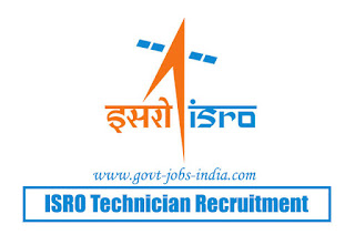 ISRO Technician Recruitment 2020