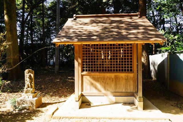 国王神社の妙見社(茨城県坂東市)