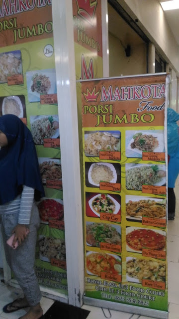 Gerai Mahkota Food Royal Plaza Surabaya